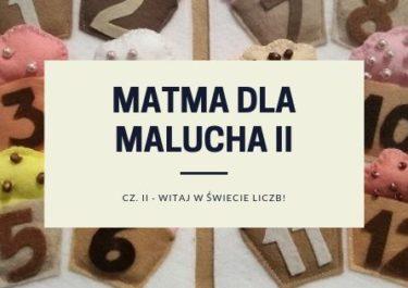 MATMA DLA MALUCHÓW II
